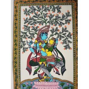 Pattachitra - Radhe Krushna